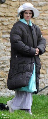 Sur le tournage de Downton Abbey (1)